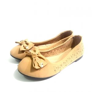 Light Brown  down shoes for ladies