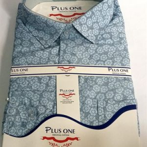 Plus One Long Sleeve Official Shirt for Men- Brown