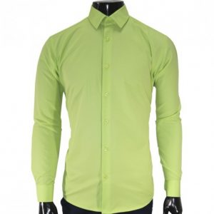St. Philip Long Sleeve Slim Fit Official shirt- Green