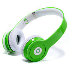 Monster Beats by Dr.Dre Wireless Bluetooth Enabled Headphones (Headsets) - Green
