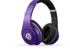 Monster Beats by Dr.Dre Wireless Bluetooth Enabled Headphones (Headsets)- Purple