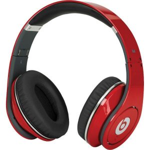 Monster Beats by Dr.Dre Wireless Bluetooth Enabled Headphones (Headsets) - Red
