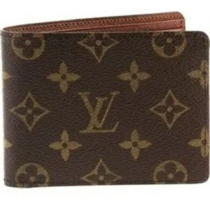 Louis Vuitton Leather Wallet - Chocolate